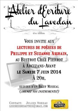 invitation aux lectures et musique