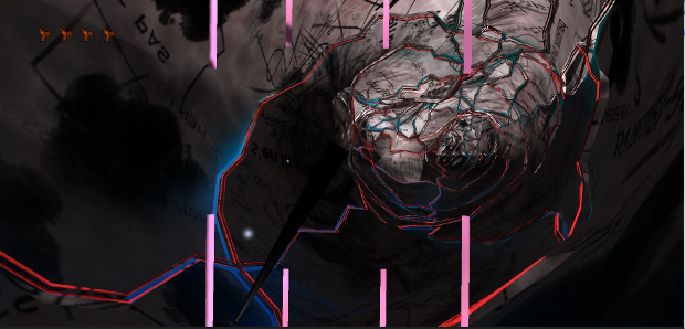 image du jeu en caméra subjective pour le Journal du brise-lames